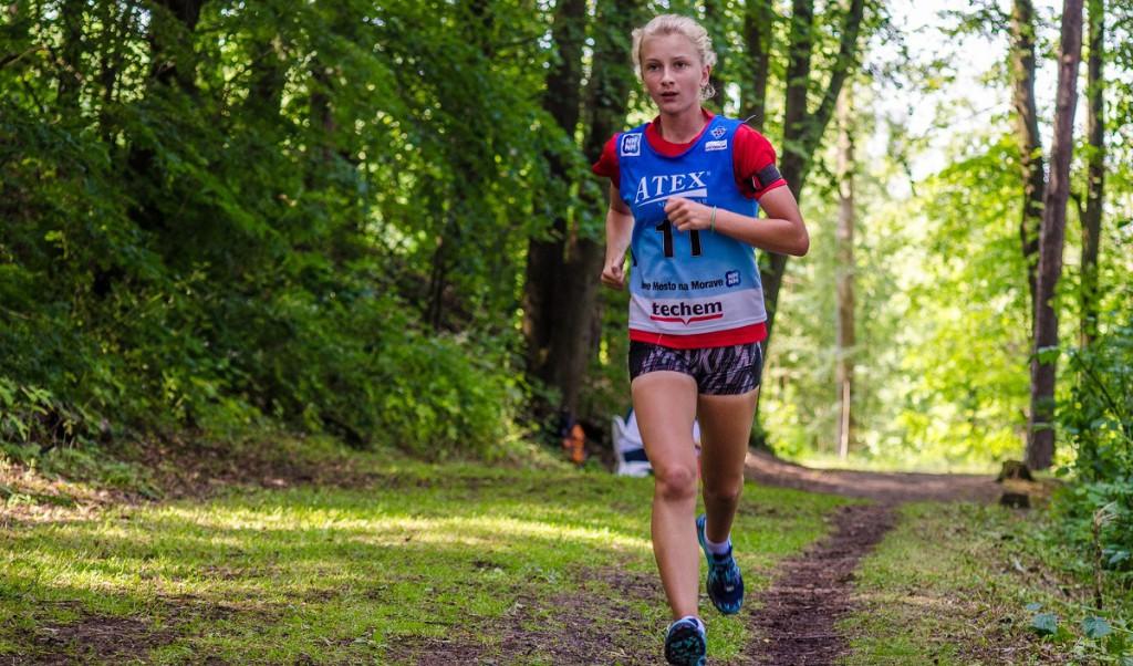 Mladší dorostenka Veronika Novotná ze Starého Města pod Landštejnem  vyhrála závod s hromadným startem a druhá doběhla ve sprintu
