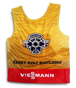 Žlutý trikot pro nejlepší závodníky v dorosteneckých kategoriích