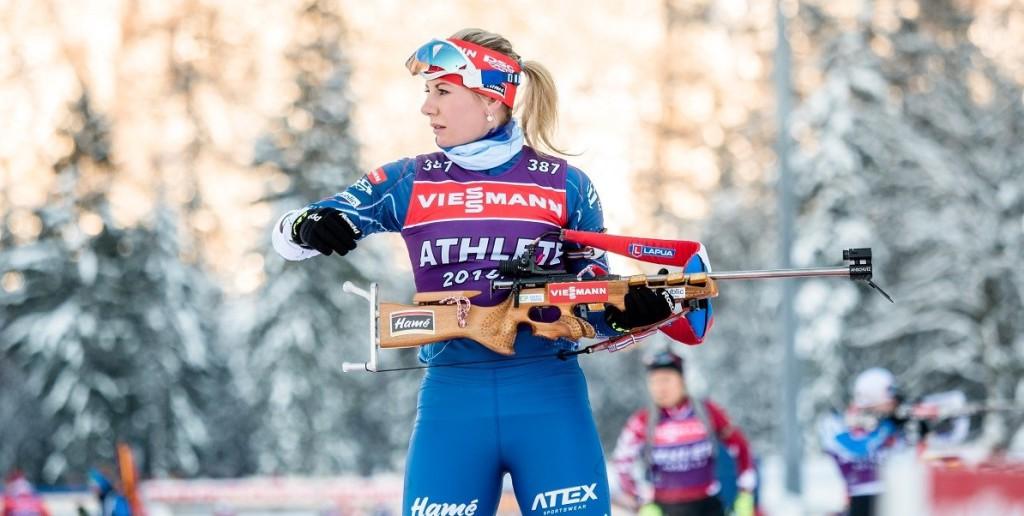 Lucie Charvátová musela během šesti štafetových závodů naběhat celkem 11 trestných kol