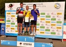 Jan Burian a jeho třetí medaile z MS 2016.