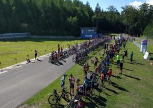 Areál v Jablonci n/N hostí po MČR na horských kolech také domácí šampionát v letním biatlonu.