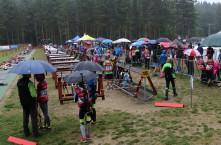 Déšť a chlad v České Kanadě