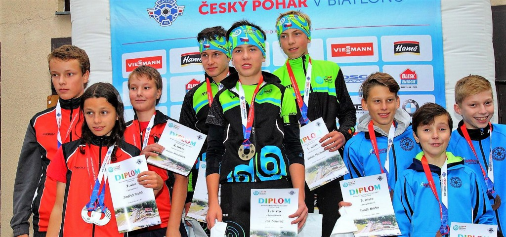 Letohradský titul. Ve štafetách trojic kategorie žáků C vyhráli domácí Jakub Hermann, Jan Semirád a Matěj Költö. Stříbrní jsou kluci ze Starého Města p/L a bronz putuje do Břidličné