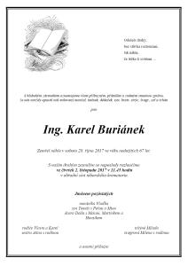 Karel Buriánek-parte