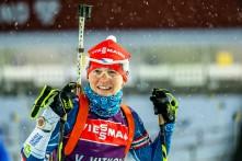 Veronika Vítková, první Češka na startu Světového poháru sezóny 2016/2017