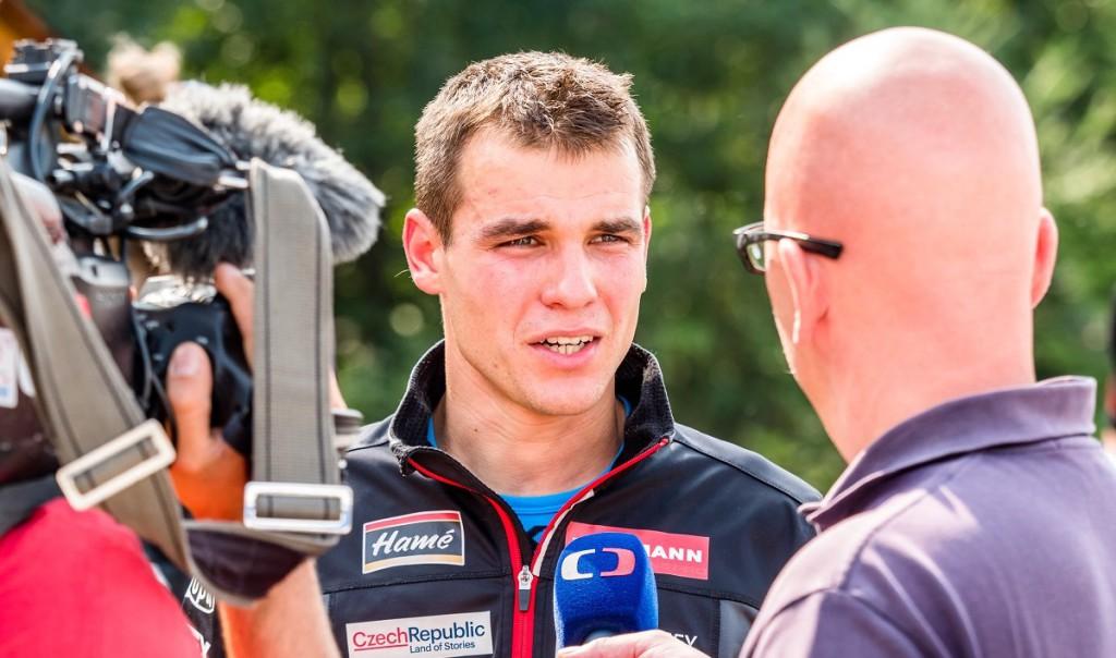 Michal Krčmář je nejen skvělým biatlonistou, ale díky své výřečnosti i vděčným objektem novinářů