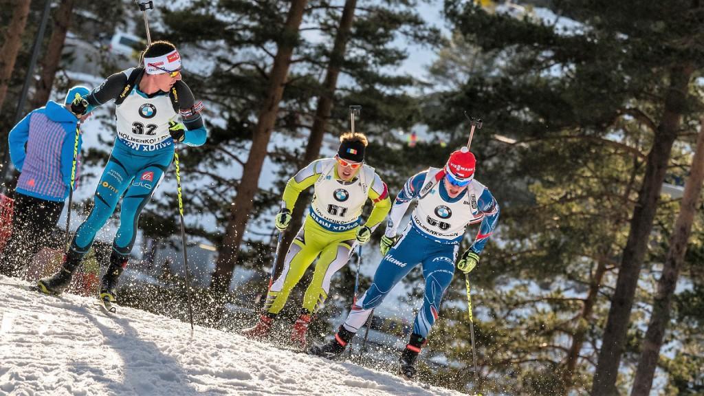 Sníh kolem bojovníka Michala Krčmáře létá všemi směry