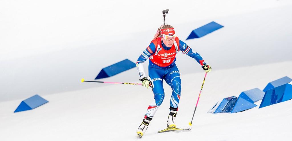 Evu Puskarčíkovu 12,5 km dlouhý závod bolel, ale radost za krásnou sezónou převládá
