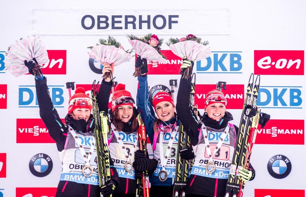 První triumf v Oberhofu