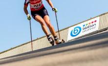 Momentka z MČR na kolečkových lyžích 2016
