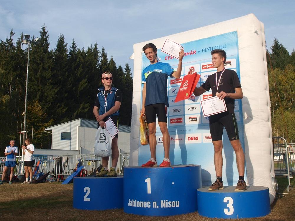David Foller ze Střelky Brno vyhrál při každém ze svých tří startu na domácím šampionátu.