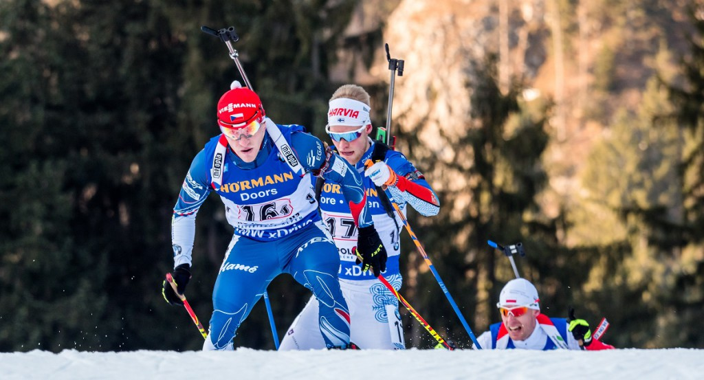 Ondřej Hošek ukázal, že závodu Světového poháru se bát nemusí