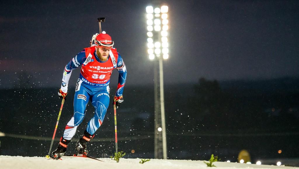 Michal Šlesingr dnes bodoval jako jediný z českých reprezentantů...