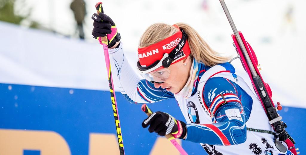 Eva Puskarčíková bojovala, ale za lepším výsledkem ji nepustily čtyři chyby na střelnici