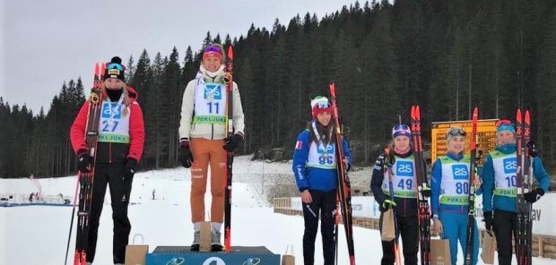 Tereza Vinklárková čtvrtá ve vytrvalostním závodě Junior IBU Cupu!