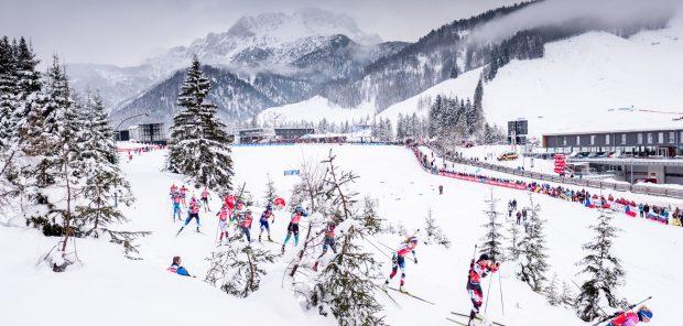 SP Hochfilzen 2019, štafeta žen