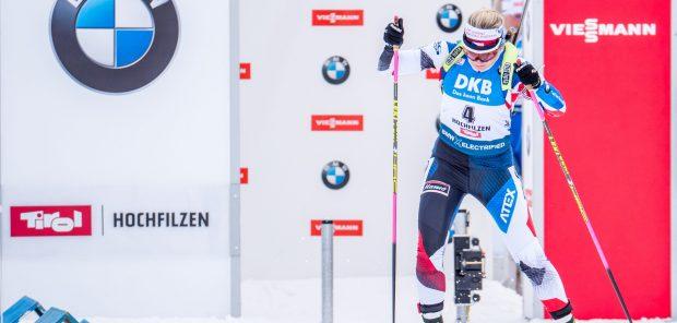SP Hochfilzen 2019, sprint žen