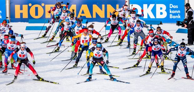 SP Hochfilzen 2019, štafeta mužů