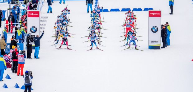 SP Oberhof 2020, štafeta žen