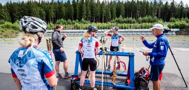Po zvláštním volnu odstartovaly české biatlonistky přípravu. Zatím bez trenéra Gjellanda