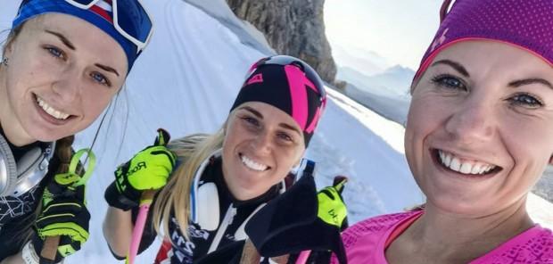 """Čeští biatlonisté jsou opět v Rakousku. Lyžují na """"malém obdélníku"""""""