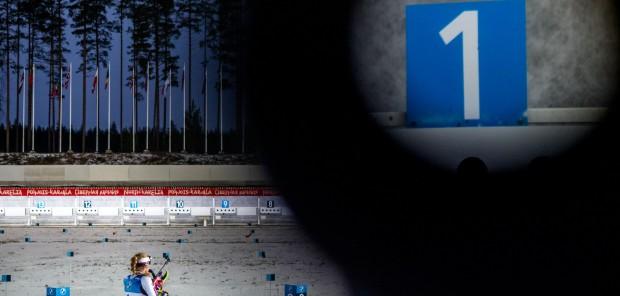 České biatlonistky se ve sprintu v Kontiolahti střelecky trápily. Nejlepší Davidová byla 37.
