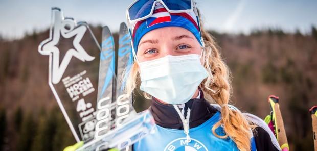 SP Hochfilzen 2020 #2, hromadný start žen