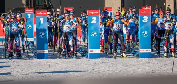 SP Hochfilzen 2020 #2, stíhací závod žen