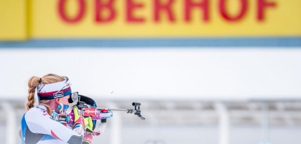 SP Oberhof 2021 #1, stíhací závod žen