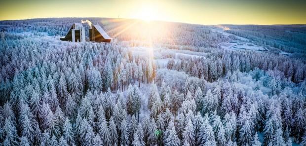 Vlídnější Oberhof. České biatlonisty překvapilo množství sněhu i lepší počasí