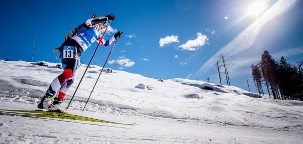 Půlka dubna a čeští biatlonisté pořád lyžují. Letos je to naprostý unikát, říká Charvátová