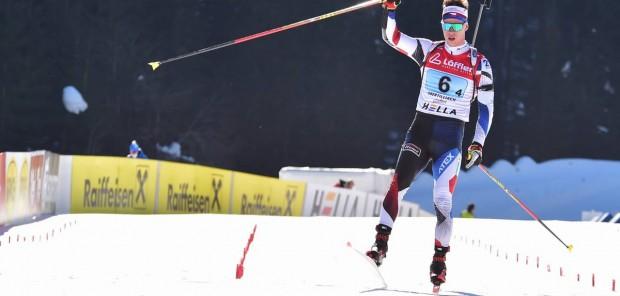 """Finišman bronzové juniorské štafety Mikuláš Karlík: """"Velké nervy a velká zkušenost!"""""""