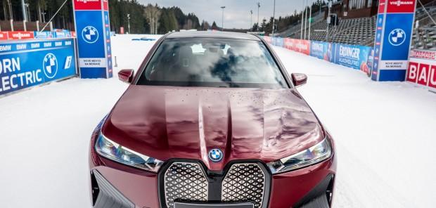 Proč se po Vysočina Areně proháněl unikátní prototyp BMW?