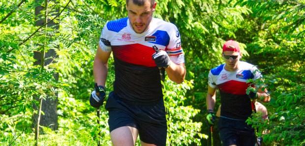Fotoreportáž: Čeští biatlonisté vybíhali kopce na soustředění v Novém Městě