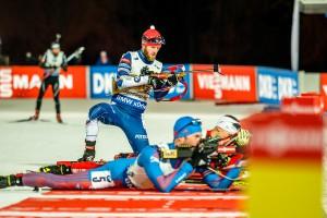 Michal Šlesingr střílel rychle a bezchybně