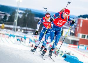 Michalové  Krčmár a Šlesingr běželi v polovině závodu bok po boku