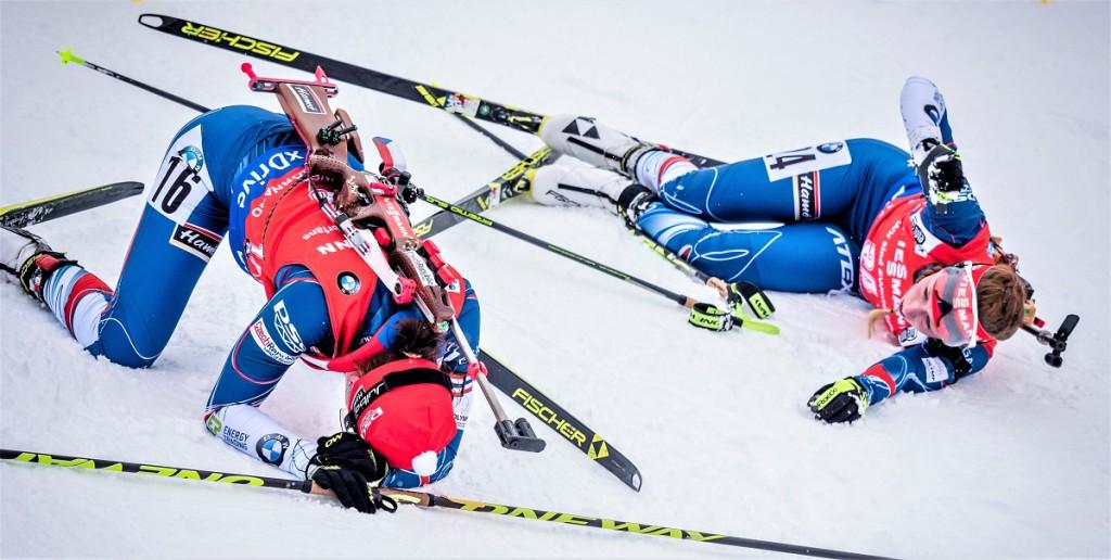 Veroniku Vítkovou i Jessiku Jislovou závod hodně bolel...