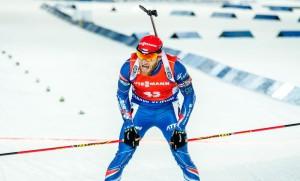 Michal Šlesingr dokončil závod ve Sprintu na 12. místě. Foto: Český biatlon, Petr Slavík