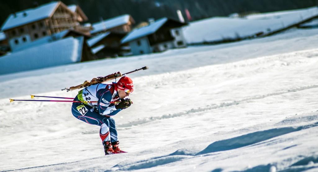 Ondřej Hošek jako biatlonista