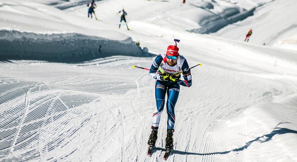 Tomáš Krupčík na trati vytrvalostního závodu v Ridnaunu