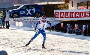 Michal Šlesingr na 2. úseku zkusil zariskovat, ale ani jemu se dnes na střelnici nedařilo. Foto: Český biatlon, Petr Slavík